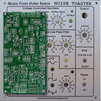 NOISE TOASTER - PCB and Face Plate